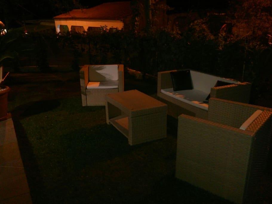 Salottino da esterno