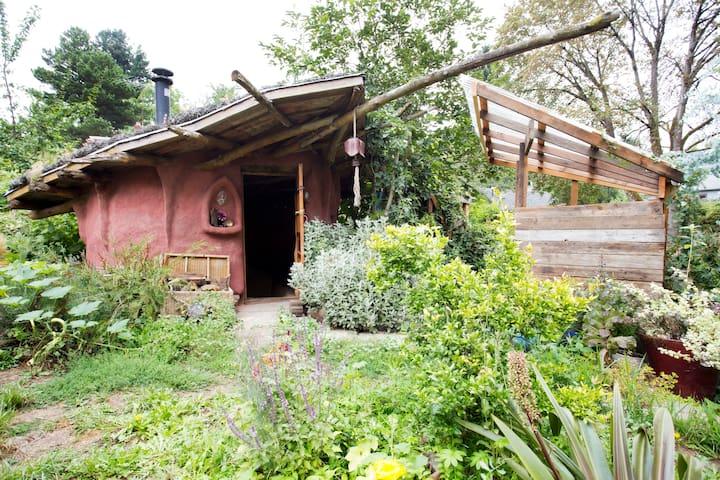 The Mudhut and garden sanctuary