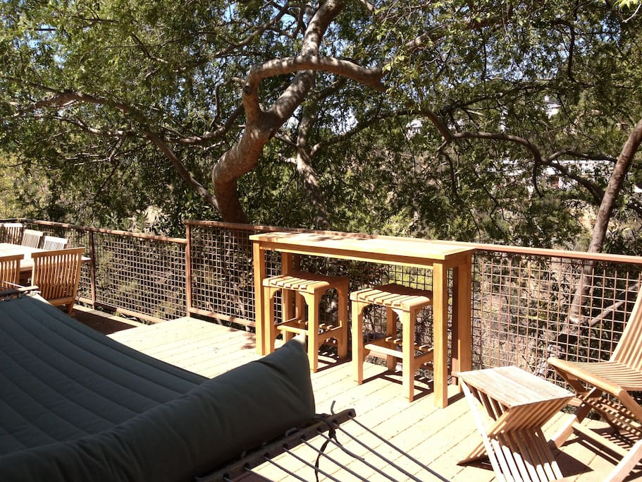 Hammock and canyon view