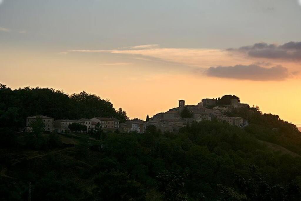 Il Borgo di Semproniano in Maremma Toscana