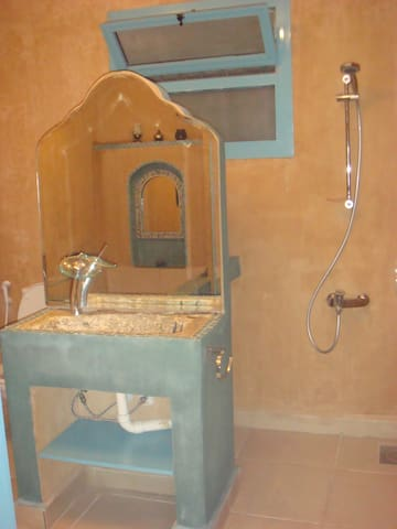 Bathroom with Japanese bath