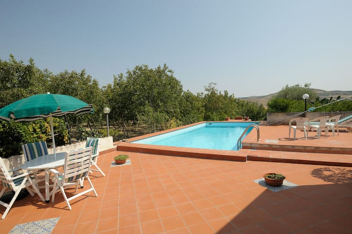Villa Paola - pool surrounded by greenery