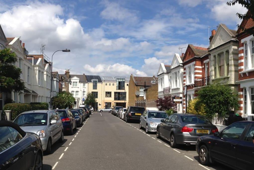 Eddiscombe Road