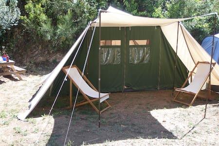 Caracteristic De Waard tent - Figueiró dos Vinhos - テント