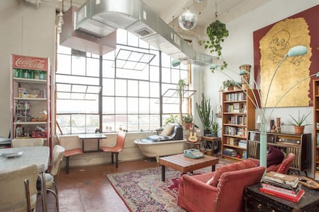 Bohemian Paradise in Industrial BK - Brooklyn - Loft