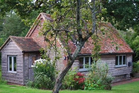 Stylishly converted detached barn
