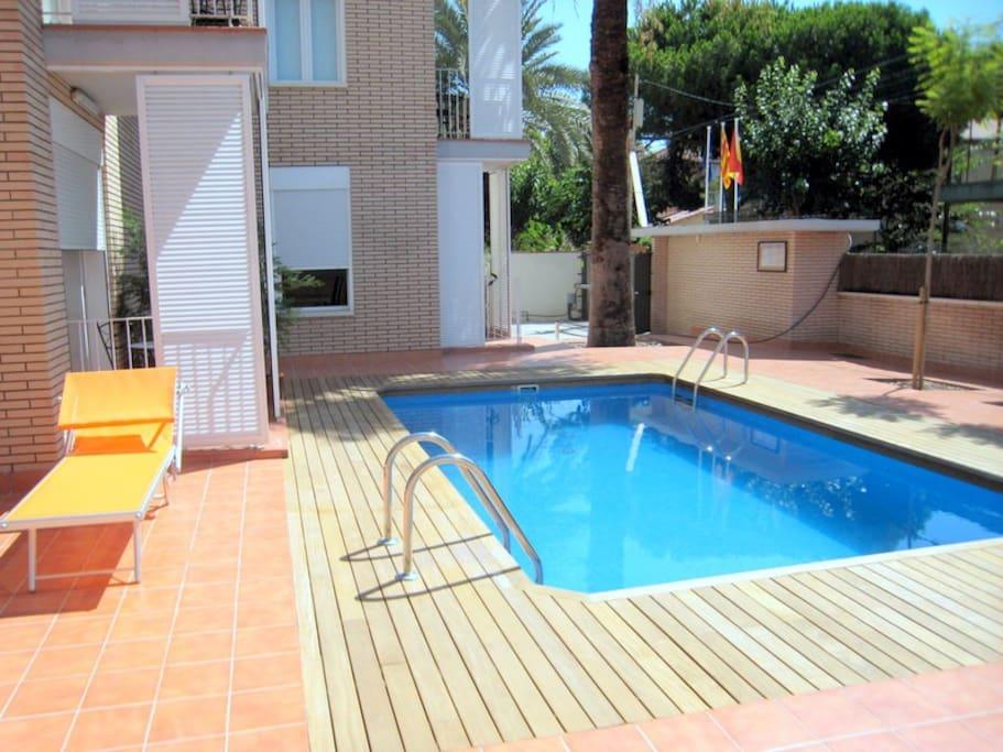 Studio apartment near beach (max.3)
