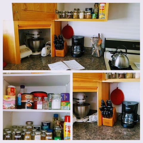 What's cookin'? We have plenty of stuff to add some spice to your meals. If you don't see what you need, give us a shout, and we will share, if we have some.