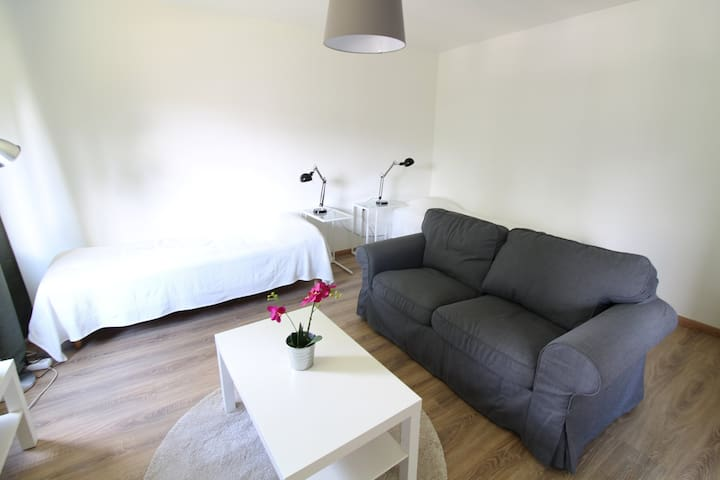 A bright studio apartment in Hiekkaharju, Vantaa - Hiekkaharjuntie 14