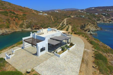 Villa Helios  360degree view - Andros