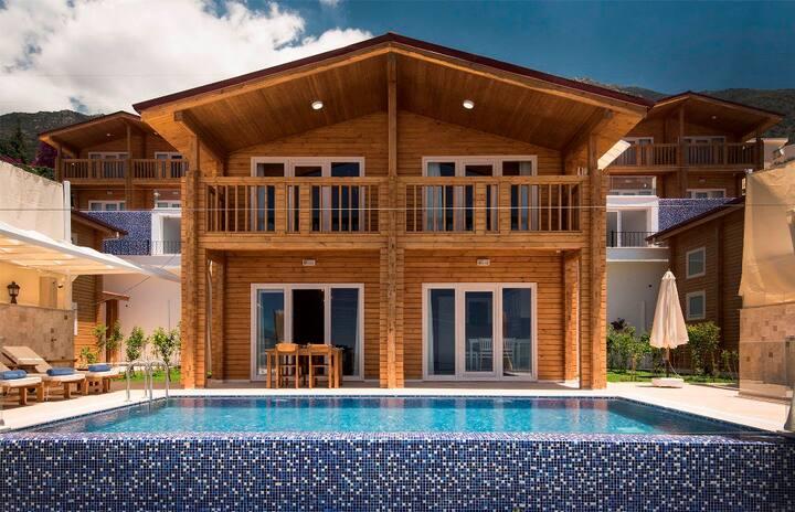 Villa Eco Sardunya Kalkan ekiralikvilla - com