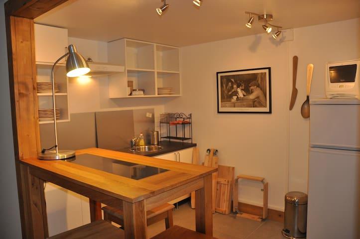 Charment petit appartement - Chamonix - Leilighet