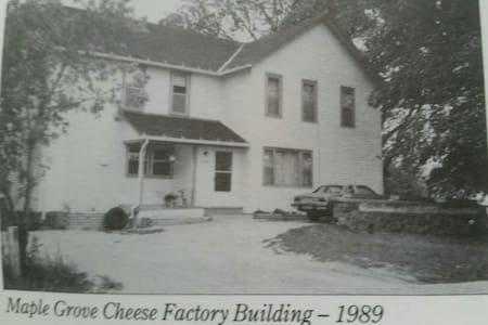 Remodeled Country Cheese Factory! - Plymouth - Rumah