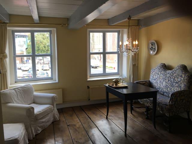 Suite in historisch pand in hart van Zutphen