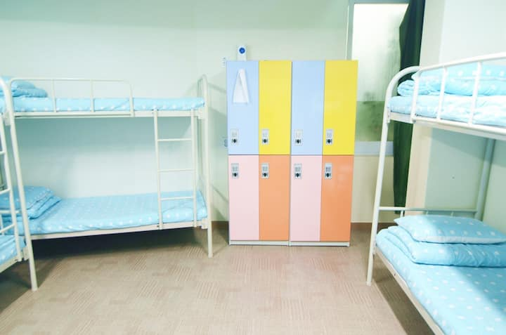 6Bed female dormitory bed @Seoul Downtown