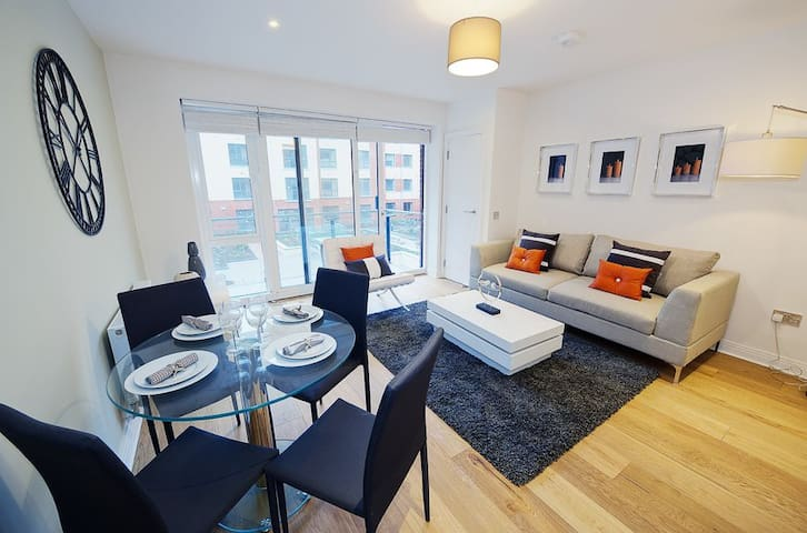 Very comfortable large ensuite room - Lucan - Wohnung