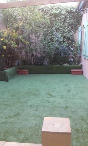 Chambre partager dortoir centre ville calme jardin