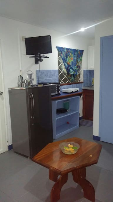 Kitchenette with all the necessary equipment