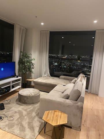 Skyline penthouse