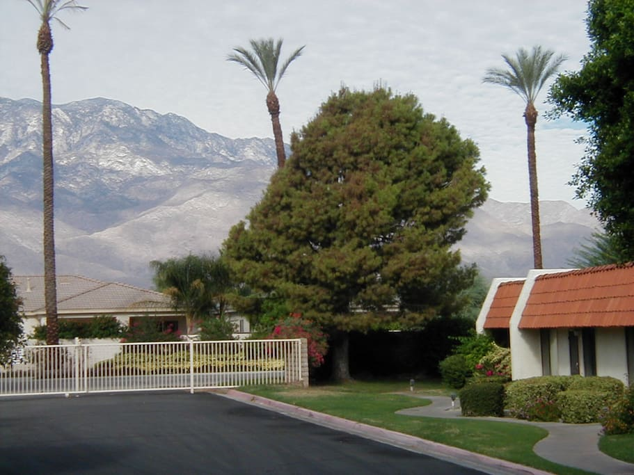 Private gated community with great walking and open grassy areas