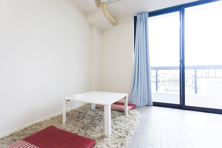 Cosy Renovated Apartment PocketWIFI - Funabashi - Pis