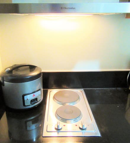 Electric Stove + Rice Cooker