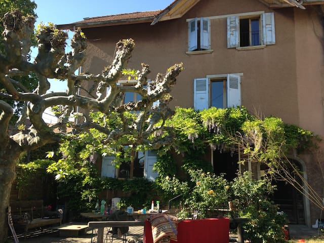 Très bel appartement à la campagne près de Genève - Saint-Julien-en-Genevois - Apto. en complejo residencial