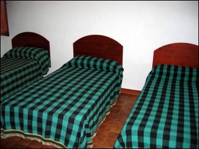 Dormitorio, segunda planta