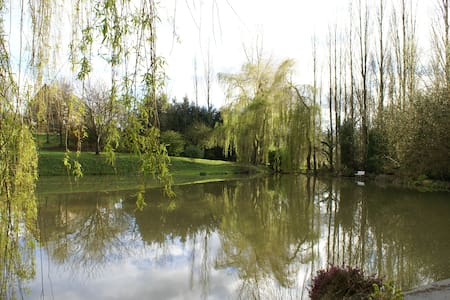 Cottage with pond near Caen - Préaux-Bocage - Дом