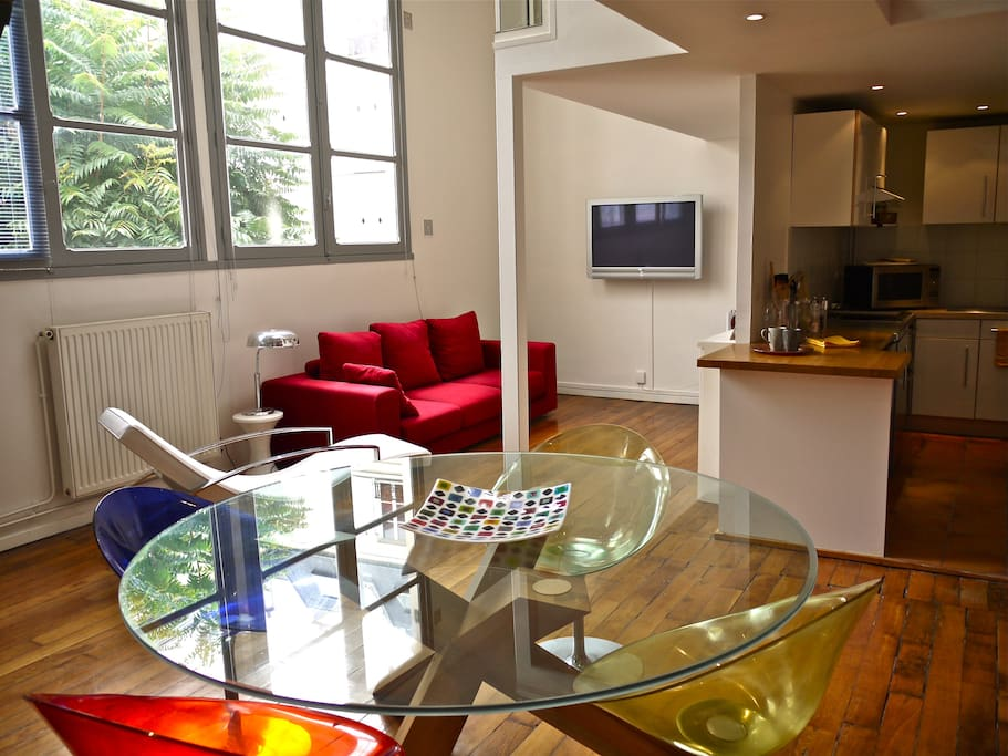 Loft champs elysees 75008 5pers flats for rent in paris le de france france - Achat loft ile de france ...