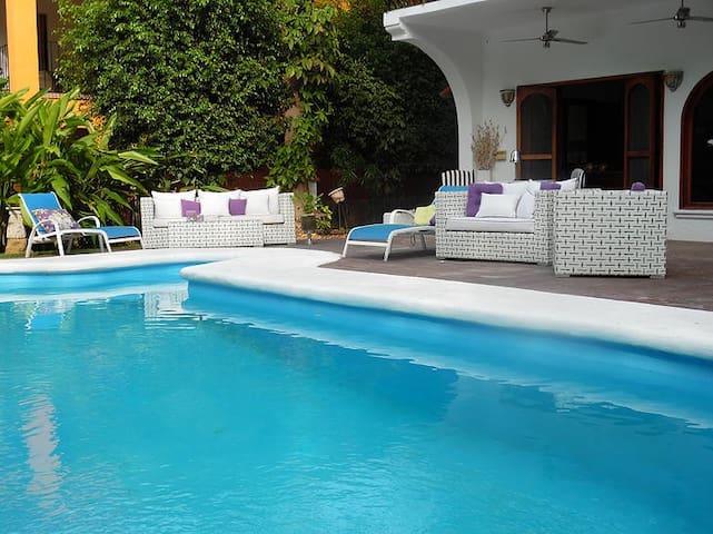 Hermosa Casa en Nuevo Vallarta12Pers.