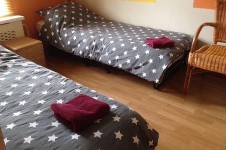 Gezellige kamer met aparte zitkamer - Stellendam - Inap sarapan