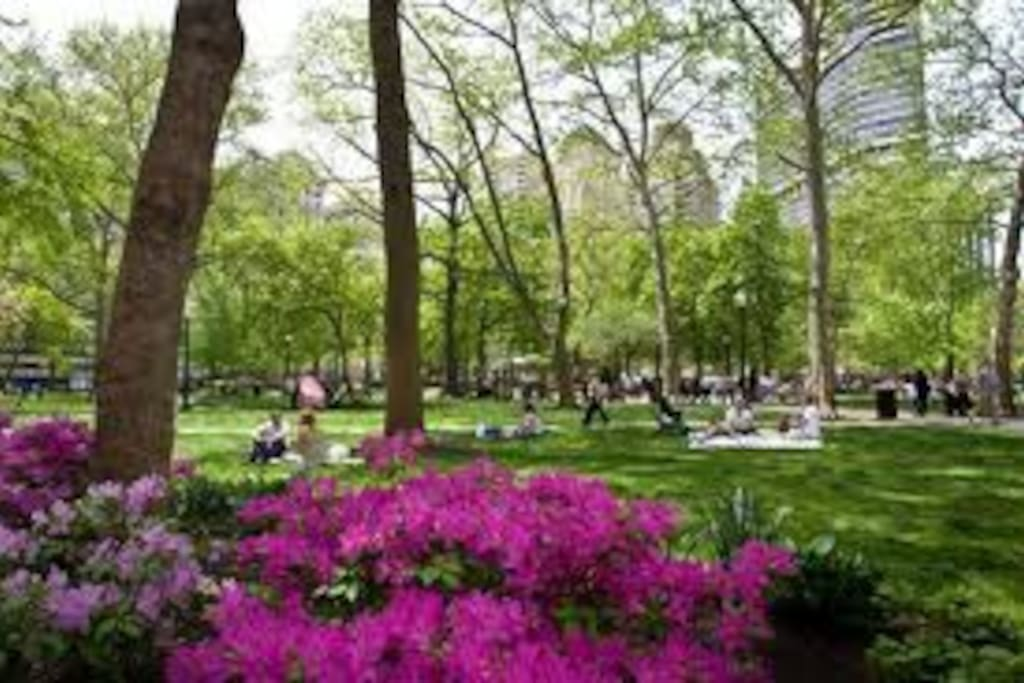 On Rittenhouse Square, Park View