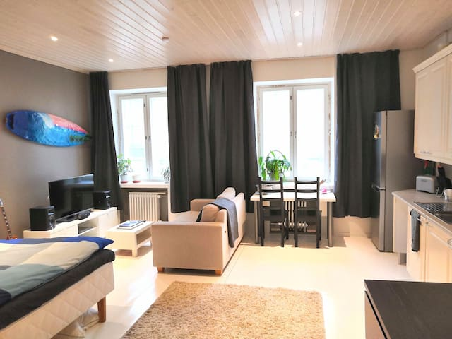 Spacious studio close to central Helsinki