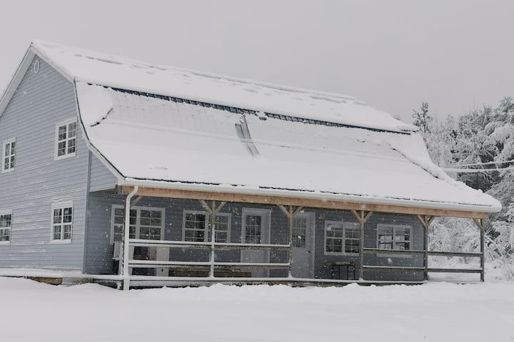 A Barn House on the edge of a National Park