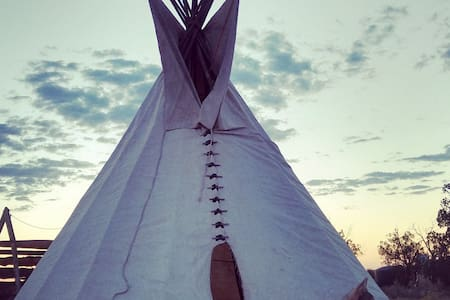 Nest in a Tipi
