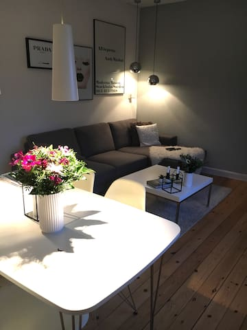2 room flat 14 min. outside Copenhagen by train - Glostrup - Appartement