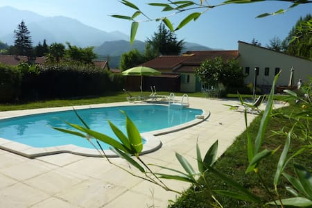 L'Oiseau Chantant - Villa with pool, garden, wifi - Fuilla