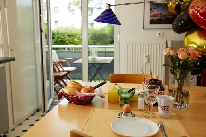 Double-Bed & Breakfast next 2 Fair - Kolonia - Apartament