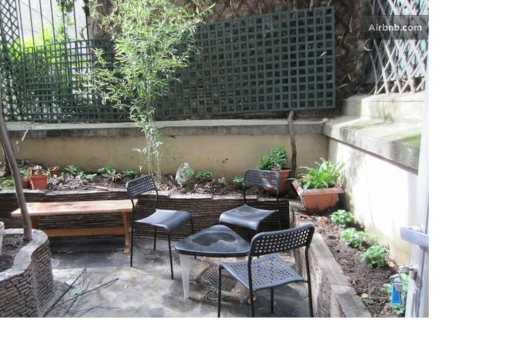 Beau studio avec jardin apartments for rent in paris for Beau jardin apartments