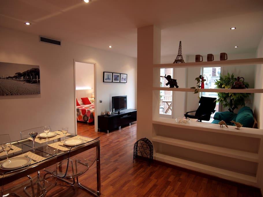 3lujo centro bcn sagrada familia appartamenti in for Appartamenti barcellona affitto annuale