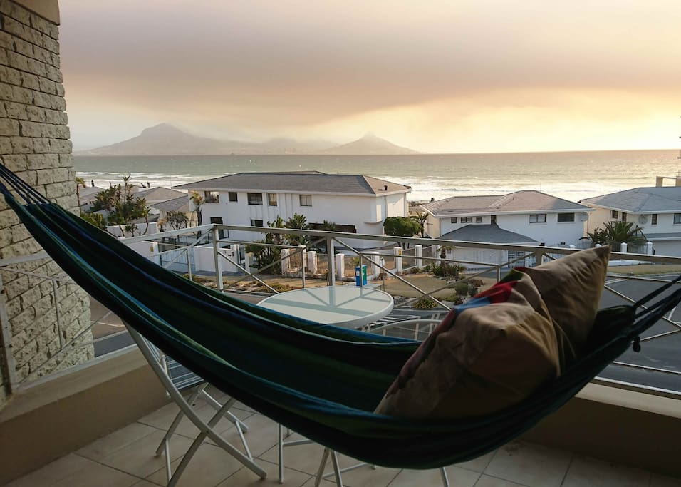 Relax on the hammock and enjoy the Atlantic Ocean views.