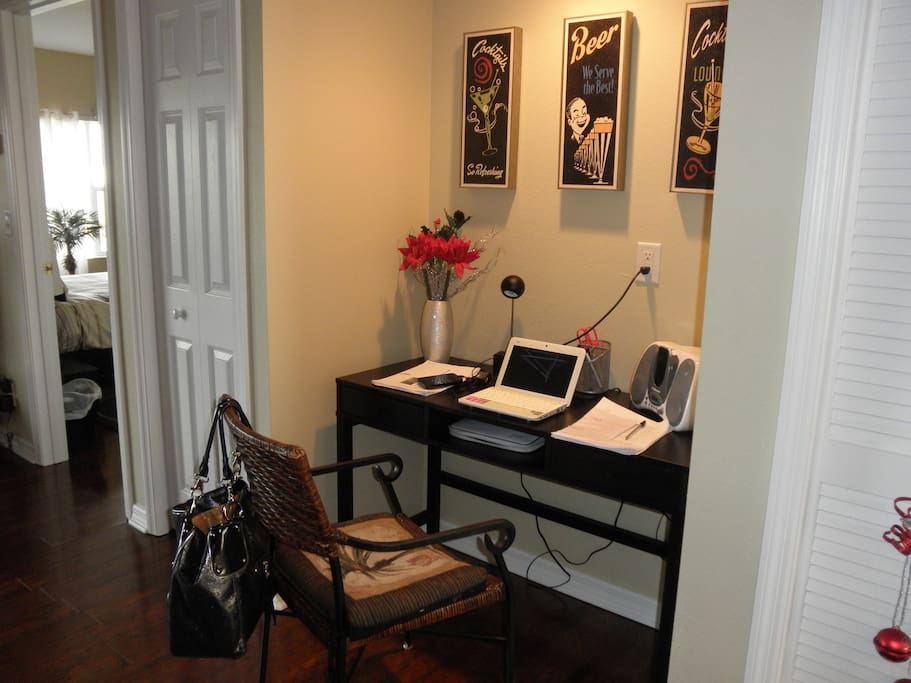 Office space in the mail living room