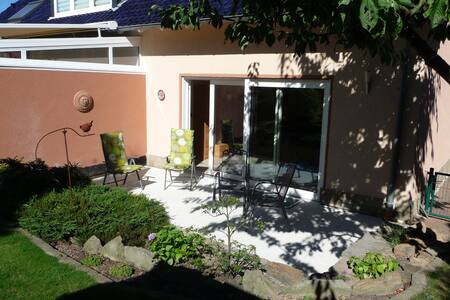 Modernes Ferienhaus - Garten - Fröndenberg