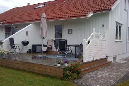 Nice house with a big sunny garden. - Skien - Reihenhaus