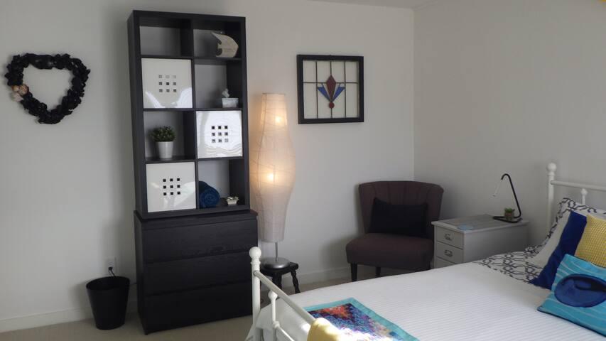 Master bedroom - plenty of drawers + 2 closets!