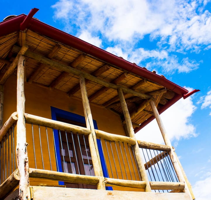 Balcón de la habitación principal.