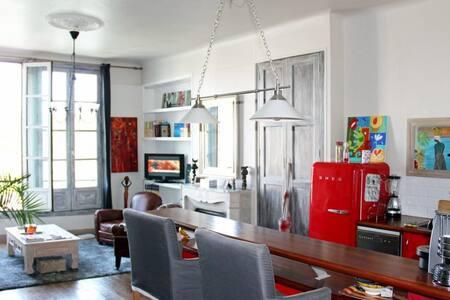 Superbe T2 vue Nive - Bayonne - อพาร์ทเมนท์