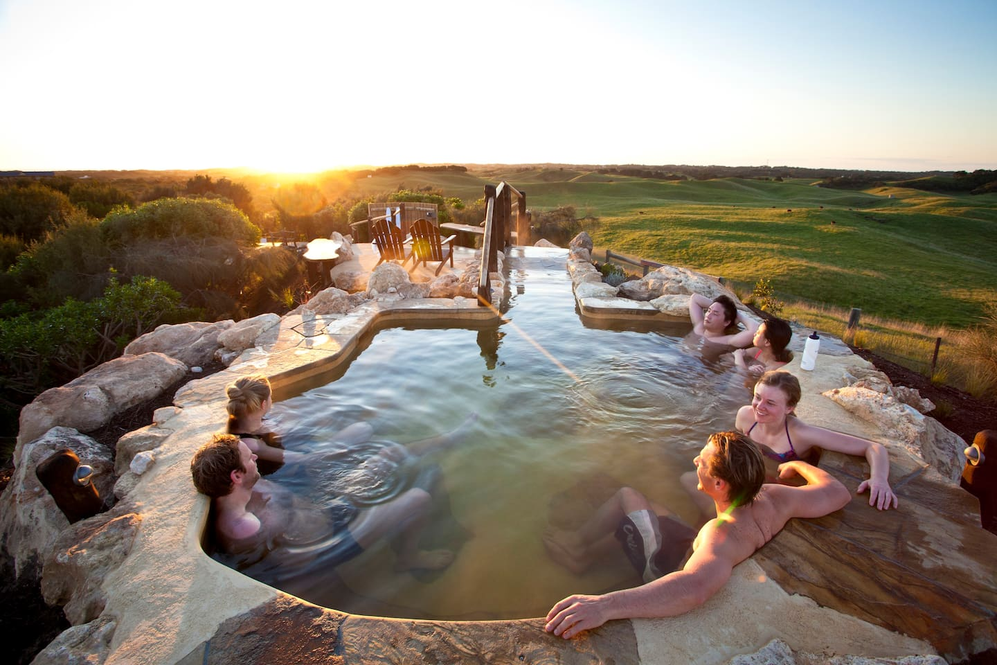 Local attraction: Peninsula Hot Springs