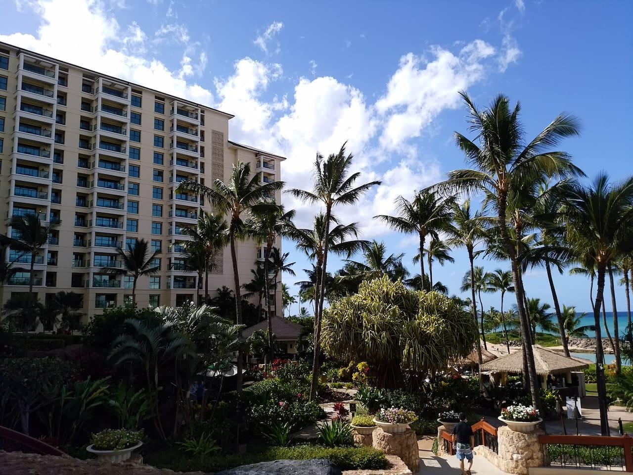 Hawaii KoOlina Beach Club Studio